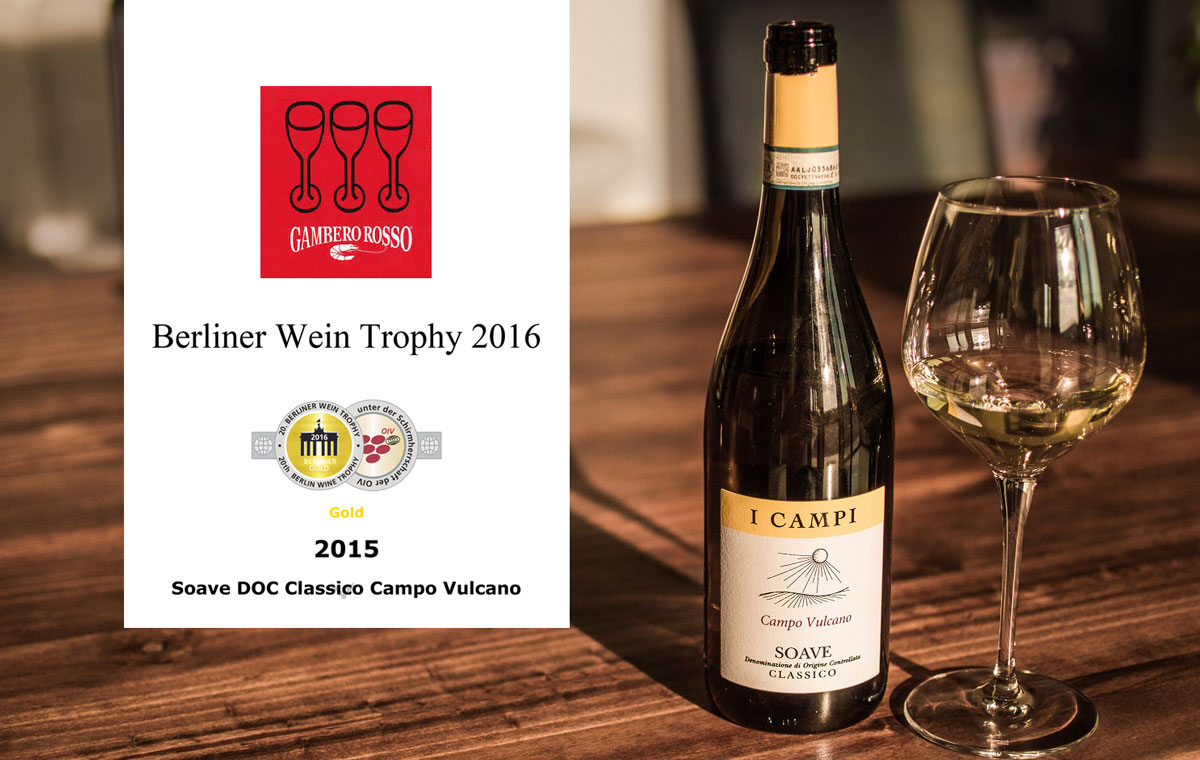 Soave Soave Campo Vulcano 2015 … a multi-award winning